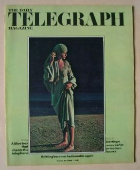 The Daily Telegraph magazine - Fashion cover (17 March 1972)