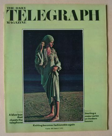 <!--1972-03-17-->The Daily Telegraph magazine - 17 March 1972