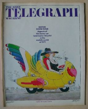 The Daily Telegraph magazine - Motor Show Issue (22 October 1971)