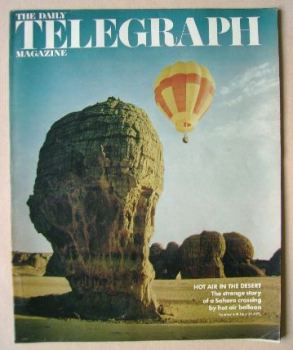 The Daily Telegraph magazine - Hot Air Balloon cover (30 June 1972)
