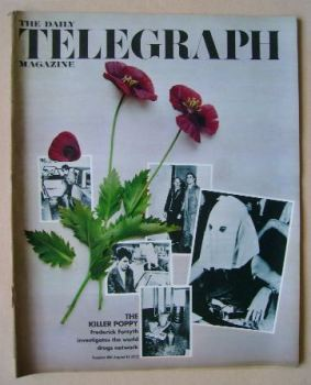 The Daily Telegraph magazine - The Killer Poppy cover (11 August 1972)