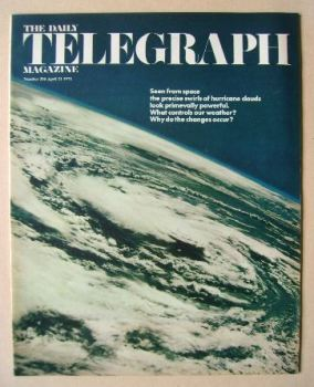 The Daily Telegraph magazine - Clouds cover (21 April 1972)