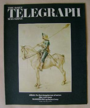 The Daily Telegraph magazine - Durer's Horse and Rider cover (21 May 1971)