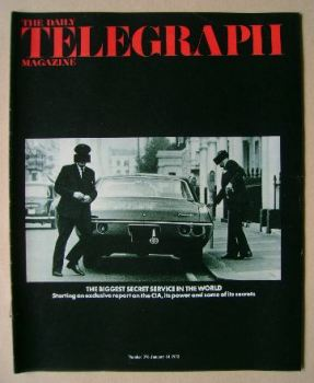 The Daily Telegraph magazine - CIA cover (14 January 1972)