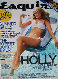 Esquire magazine - Holly Willoughby cover (July 2006)