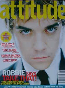 Attitude magazine - Robbie Williams cover (July 1996)