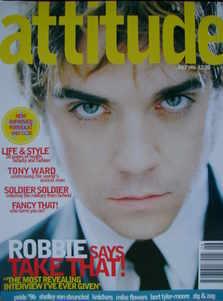 Attitude magazine - Robbie Williams cover (July 1996)