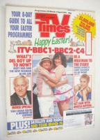 <!--1991-03-29-->TV Times magazine - Happy Easter cover (29 March - 5 April 1991)