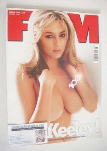 <!--2006-06-->FHM magazine - Keeley Hazell cover (June 2006)