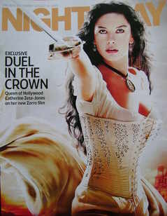 Night & Day magazine - Catherine Zeta-Jones cover (14 August 2005)