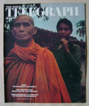 <!--1971-03-26-->The Daily Telegraph magazine (26 March 1971)