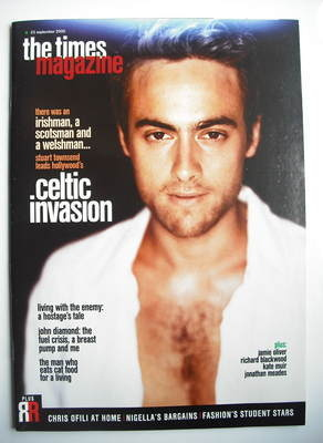 <!--2000-09-23-->The Times magazine - Stuart Townsend cover (23 September 2
