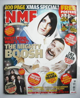 <!--2008-12-20-->NME magazine - The Mighty Boosh cover (20-27 December 2008