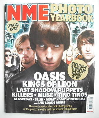 <!--2009-01-03-->NME magazine - Liam Gallagher cover (3 January 2009)