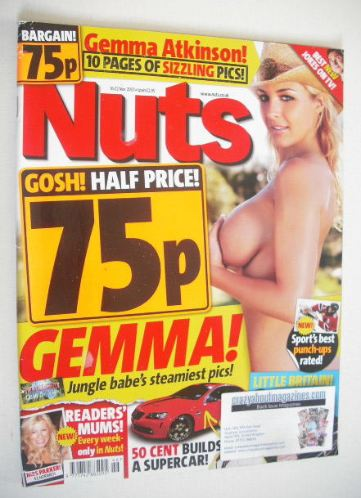 <!--2007-11-16-->Nuts magazine - Gemma Atkinson cover (16-22 November 2007)