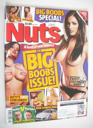 <!--2007-05-04-->Nuts magazine - Lucy Pinder cover (4-10 May 2007)