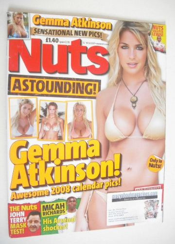 <!--2007-10-12-->Nuts magazine - Gemma Atkinson cover (12-18 October 2007)