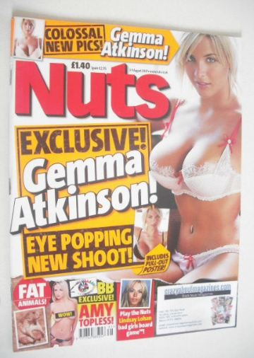 <!--2007-08-03-->Nuts magazine - Gemma Atkinson cover (3-9 August 2007)
