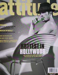 <!--2003-04-->Attitude magazine - Ian Somerhalder cover (April 2003)
