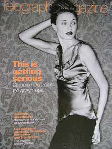 <!--2000-01-29-->Telegraph magazine - Cameron Diaz cover (29 January 2000)