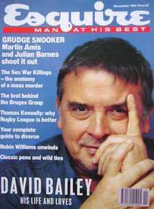 <!--1991-11-->Esquire magazine - David Bailey cover (November 1991)