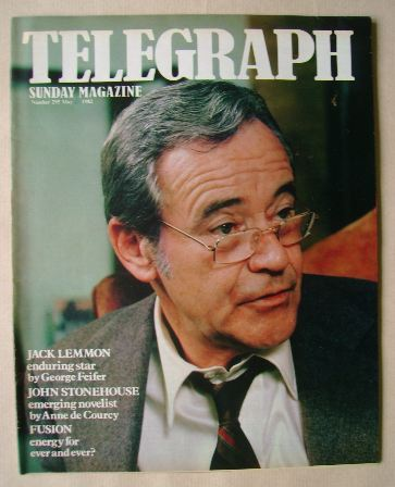 <!--1982-05-23-->The Sunday Telegraph magazine - Jack Lemmon cover (23 May