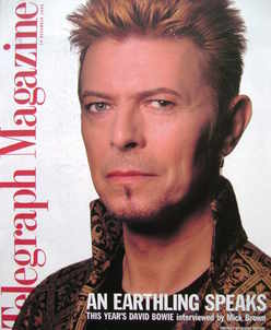 <!--1996-12-14-->Telegraph magazine - David Bowie cover (14 December 1996)