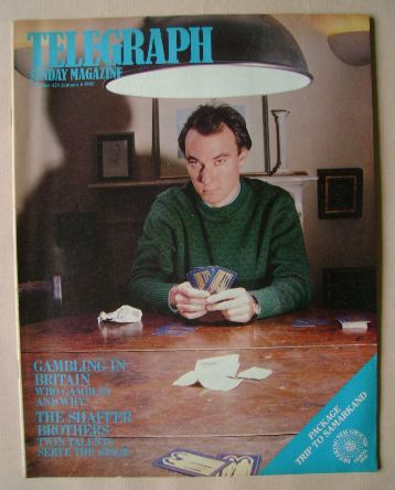 <!--1985-01-06-->The Sunday Telegraph magazine - Simon Bell cover (6 Januar