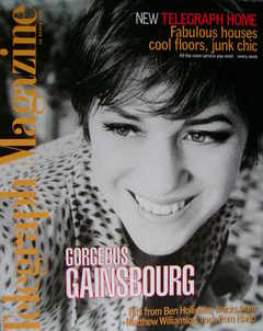 <!--1998-03-28-->Telegraph magazine - Charlotte Gainsbourg cover (28 March
