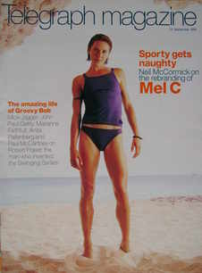 <!--1999-09-25-->Telegraph magazine - Mel C cover (25 September 1999)