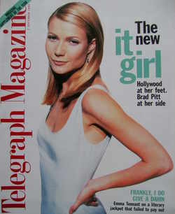 <!--1996-09-07-->Telegraph magazine - Gwyneth Paltrow cover (7 September 19