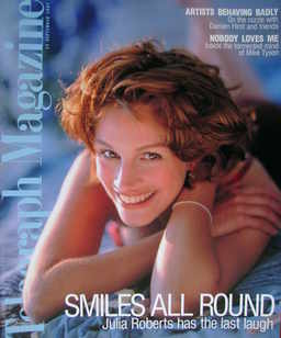 <!--1997-09-13-->Telegraph magazine - Julia Roberts cover (13 September 199