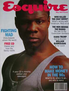 Esquire magazine - Chris Eubank cover (May 1992)
