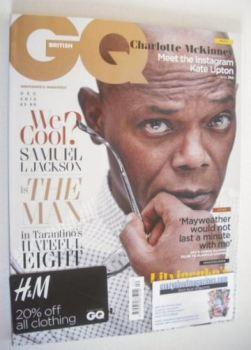 British GQ magazine - December 2015 - Samuel L Jackson cover