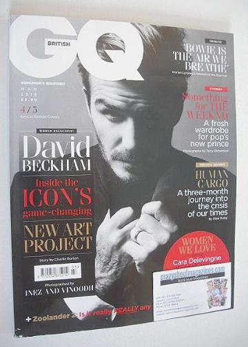 <!--2016-03-->British GQ magazine - March 2016 - David Beckham cover