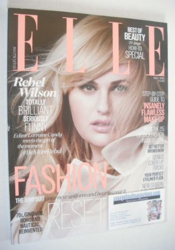 <!--2015-05-->British Elle magazine - May 2015 - Rebel Wilson cover