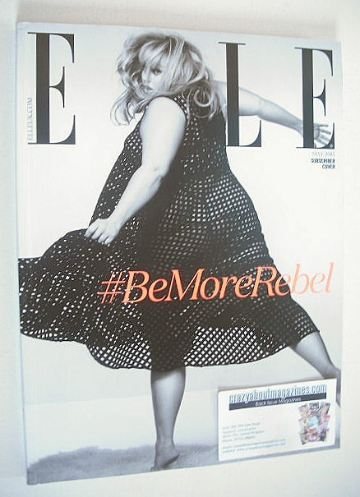 <!--2015-05-->British Elle magazine - May 2015 - Rebel Wilson cover (Subscr