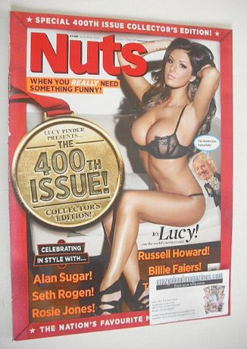 <!--2011-10-28-->Nuts magazine - Lucy Pinder cover (28 October - 3 November