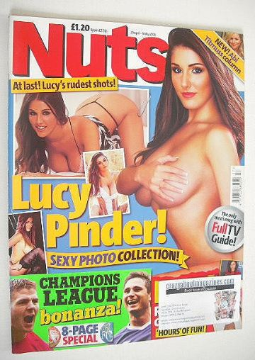 <!--2005-04-29-->Nuts magazine - Lucy Pinder cover (29 April - 5 May 2005)