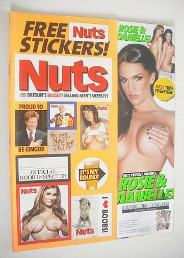 <!--2009-04-02-->Nuts magazine - Rosie and Danielle cover (27 March - 2 Apr