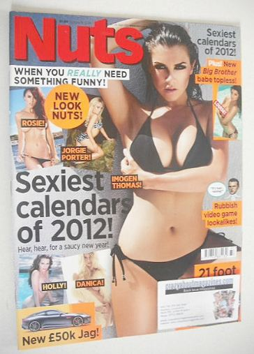 <!--2011-09-16-->Nuts magazine - Imogen Thomas cover (16-22 September 2011)