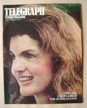 <!--1984-12-16-->The Sunday Telegraph magazine - Jackie Onassis cover (16 D
