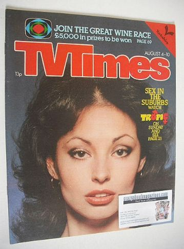 <!--1979-08-04-->TV Times magazine - Tropic cover (4-10 August 1979)