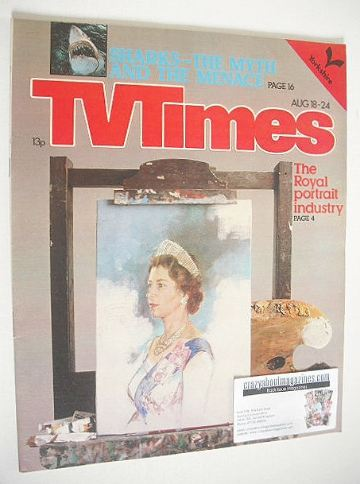 <!--1979-08-18-->TV Times magazine - Royal Portrait cover (18-24 August 197