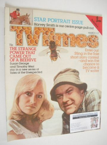<!--1980-03-01-->TV Times magazine - Susan George and Timothy West cover (1