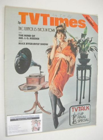 <!--1971-05-08-->TV Times magazine - Amanda Barrie cover (8-14 May 1971)