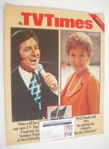 <!--1974-04-06-->TV Times magazine - Des O'Connor and Noele Gordon cover (6