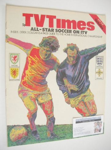 <!--1971-05-15-->TV Times magazine - All-Star Soccer cover (15-21 May 1971)