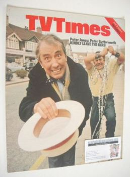 TV Times magazine - Peter Jones & Peter Butterworth cover (29 May - 4 June 1971)