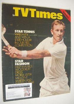 TV Times magazine - Rod Laver cover (5-11 June 1971)